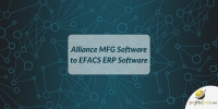 Alliance MFG to EFACS ERP Software